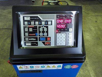 エアコンのガス回収再生・ライン洗浄機